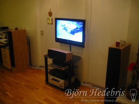 aluminiumplatta, fäste, tv fäste, aluminium, fräs, hemmabio, högtalare, receiver