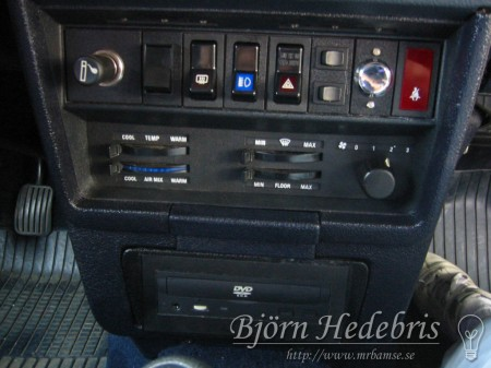 Mittkonsol, Volvo 240
