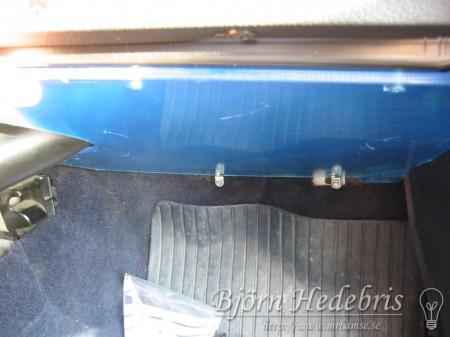 Plexiglas i Volvo 240