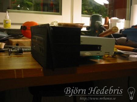 DVD ROM i träram