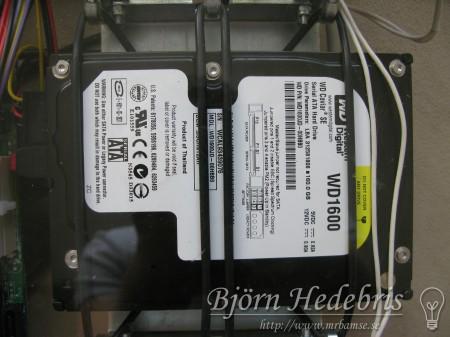 Western Digital 160Gb, bildator