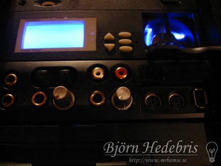 Svartlackad Soundblaster Audigy Platinum front