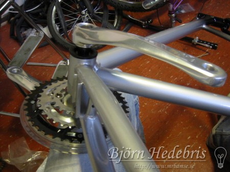 Drivkrans, vevarm, X-Bike