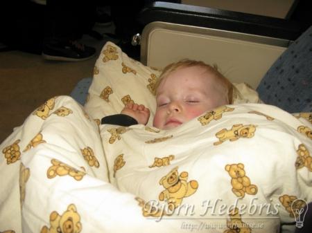 Noah sover
